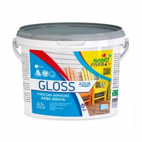 Эмаль универсальная Gloss Aqua Nanofarb