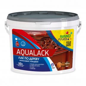 Лак по дереву акриловый Aqualack Nanofarb глянцевый - изображение 3 - интернет-магазин tricolor.com.ua