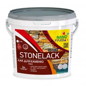 Лак для камня Stone Lack Nanofarb глянцевый - интернет-магазин tricolor.com.ua