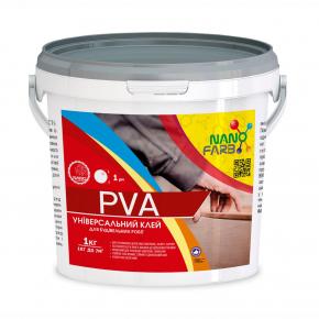 Клей строительный универсальный PVA Nanofarb