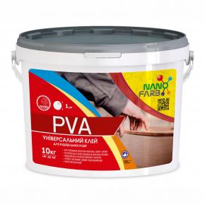 Клей строительный универсальный PVA Nanofarb - изображение 4 - интернет-магазин tricolor.com.ua