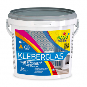 Клей для стеклообоев и стеклохолста Kleberglas Nanofarb