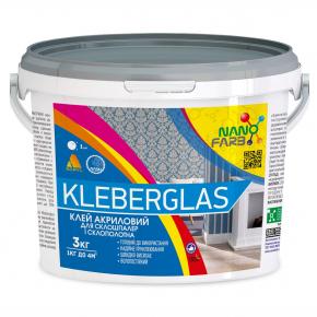 Клей для стеклообоев и стеклохолста Kleberglas Nanofarb - изображение 2 - интернет-магазин tricolor.com.ua