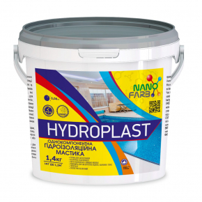Гидроизоляционная мастика Hydroplast Nanofarb