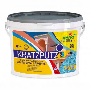 Силиконовая декоративная штукатурка Kratzputz Nanofarb