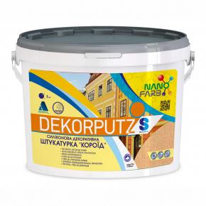 Силиконовая декоративная штукатурка Dekorputz Nanofarb