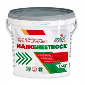 Шпаклевка финишная виниловая Nanosheetrock Nanofarb