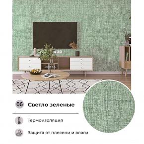 Самоклеющиеся обои YM-06 светло-зеленые - изображение 2 - интернет-магазин tricolor.com.ua