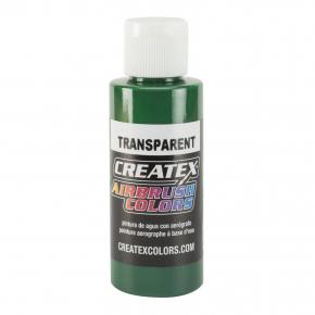 Краска для аэрографии прозрачная Ярко-зеленая Createx Airbrush Colors Transparent Brite Green 5109 - интернет-магазин tricolor.com.ua