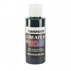 Краска для аэрографии прозрачная Зеленая Createx Airbrush Colors Transparent Forest Green 5110 - интернет-магазин tricolor.com.ua