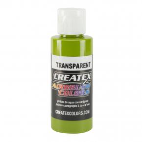 Краска для аэрографии прозрачная Зеленая листва Createx Airbrush Colors Transparent Leaf Green 5115 - интернет-магазин tricolor.com.ua