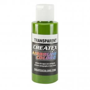 Краска для аэрографии прозрачная Зеленая Createx Airbrush Colors Transparent Tropical Green 5116 - интернет-магазин tricolor.com.ua