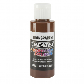 Краска для аэрографии прозрачная Светло-коричневая Createx Airbrush Colors Transparent Light Brown 5127 - интернет-магазин tricolor.com.ua