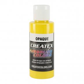 Краска для аэрографии непрозрачная Желтая Createx Airbrush Colors Opaque Yellow 5204 - интернет-магазин tricolor.com.ua