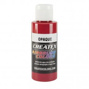 Краска для аэрографии непрозрачная Красная Createx Airbrush Colors Opaque Red 5210 - интернет-магазин tricolor.com.ua