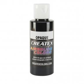 Краска для аэрографии непрозрачная Черная Createx Airbrush Colors Opaque Black 5211 - интернет-магазин tricolor.com.ua