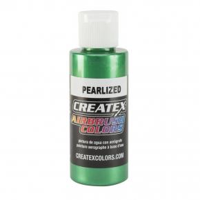 Краска для аэрографии перламутровая Зеленая Createx Airbrush Colors Pearl Green 5305 - интернет-магазин tricolor.com.ua