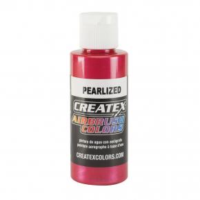 Краска для аэрографии перламутровая Красная Createx Airbrush Colors Pearl Red 5309 - интернет-магазин tricolor.com.ua