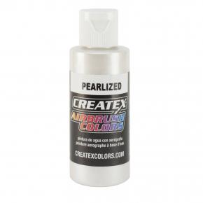 Краска для аэрографии перламутровая Белая Createx Airbrush Colors Pearl White 5310 - интернет-магазин tricolor.com.ua