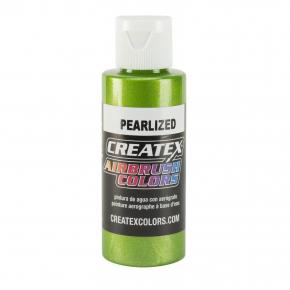 Краска для аэрографии перламутровая Лайм Createx Airbrush Colors Pearl Lime Ice 5317 - интернет-магазин tricolor.com.ua