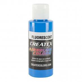Краска для аэрографии флуоресцентная Синяя Createx Airbrush Colors Fluorescent Blue 5403 - интернет-магазин tricolor.com.ua