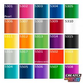 Краска для аэрографии радужная Красная Createx Airbrush Colors Iridescent Red 5501 - изображение 3 - интернет-магазин tricolor.com.ua