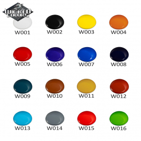 Краска для аэрографии Wicked Colors TR Brown Коричневая W010 - изображение 4 - интернет-магазин tricolor.com.ua