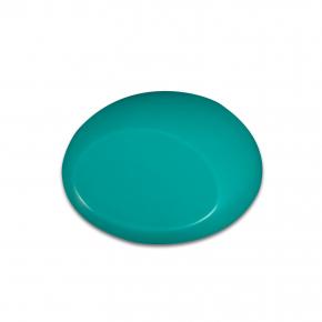 Краска для аэрографии Wicked Colors Fluorescent Aqua Морской волны W019 - изображение 2 - интернет-магазин tricolor.com.ua