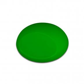 Краска для аэрографии Wicked Colors Fluorescent Green Зеленая W023 - изображение 2 - интернет-магазин tricolor.com.ua