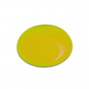Краска для аэрографии Wicked Colors Fluorescent Yellow Желтая W024 - изображение 2 - интернет-магазин tricolor.com.ua