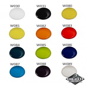 Краска для аэрографии Wicked Colors Opaque Flat White Белая W032 - изображение 2 - интернет-магазин tricolor.com.ua