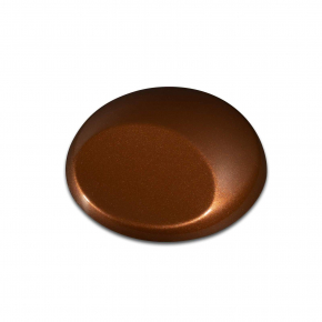 Краска для аэрографии Wicked Colors Metallic Light Brown Светло-коричневый металлик W370 - изображение 2 - интернет-магазин tricolor.com.ua