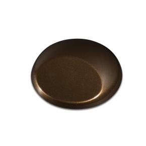 Краска для аэрографии Wicked Colors Metallic Dark Brown Темно-коричневый металлик W371 - изображение 2 - интернет-магазин tricolor.com.ua