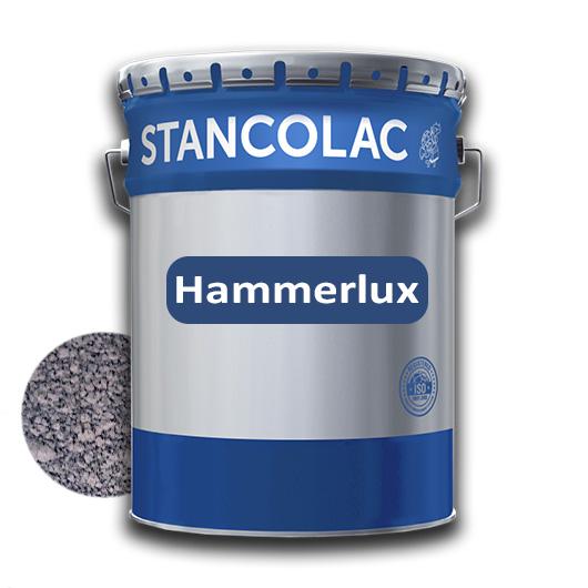 Краска алкидная по металлу Stancolac Hammerlux Хаммерлюкс молотковая 707 Серая