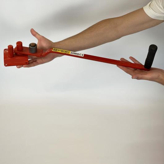 Станок для гибки арматуры ручной Afacan 10ЕВ 6-10 мм рычаг 600 мм для плавных изгибов - интернет-магазин tricolor.com.ua
