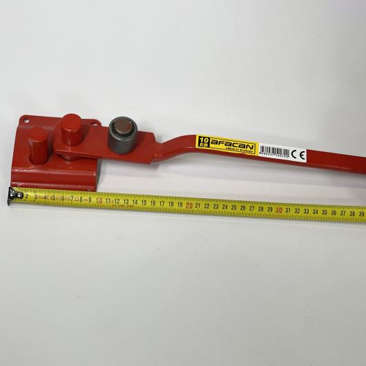 Станок для гибки арматуры ручной Afacan 10ЕВ 6-10 мм рычаг 600 мм для плавных изгибов - изображение 7 - интернет-магазин tricolor.com.ua
