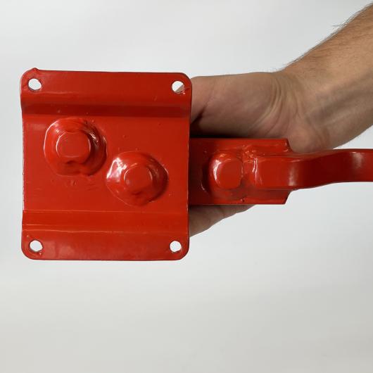 Станок для гибки арматуры ручной Afacan 10ЕВ 6-10 мм рычаг 600 мм для плавных изгибов - изображение 2 - интернет-магазин tricolor.com.ua