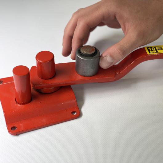 Станок для гибки арматуры ручной Afacan 10ЕВ 6-10 мм рычаг 600 мм для плавных изгибов - изображение 3 - интернет-магазин tricolor.com.ua