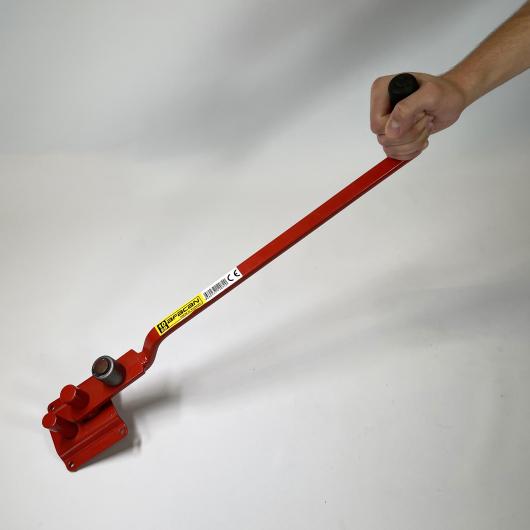 Станок для гибки арматуры ручной Afacan 10ЕВ 6-10 мм рычаг 600 мм для плавных изгибов - изображение 6 - интернет-магазин tricolor.com.ua