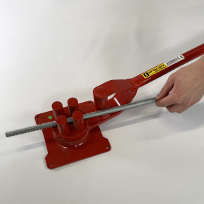 Станок для гибки арматуры ручной Afacan 4В 6-12 мм рычаг 940 мм для плавных изгибов