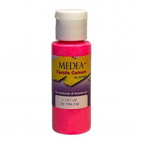 Краска для ткани Medea Pink Opaque Розовая укрывистая 313102