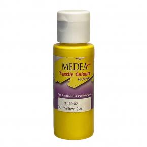 Краска для ткани Medea Yellow Opaque Желтая укрывистая 315002