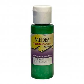 Краска для ткани Medea Green Opaque Зеленая укрывистая 316002