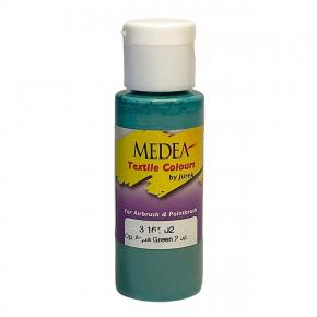 Краска для ткани Medea Aqua Green Opaque Зеленая аква укрывистая 316102