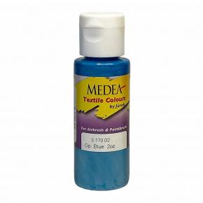 Краска для ткани Medea Blue Opaque Синяя укрывистая 317002