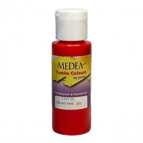 Краска для ткани Medea Vibrant Red Opaque Ярко-красная укрывистая 323102