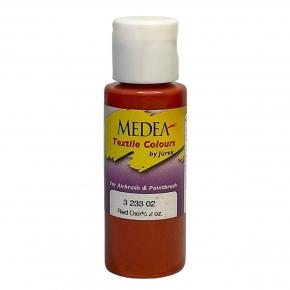 Краска для ткани Medea Red Oxide Opaque Красный оксид укрывистая 323302