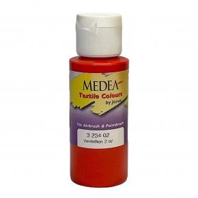 Краска для ткани Medea Vermillion Opaque Киноварь укрывистая 323402