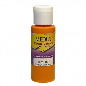 Краска для ткани Medea Golden Yellow Opaque Золотисто-желтая укрывистая 325102