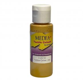 Краска для ткани Medea Yellow Ochre Opaque Охра желтая укрывистая 325202